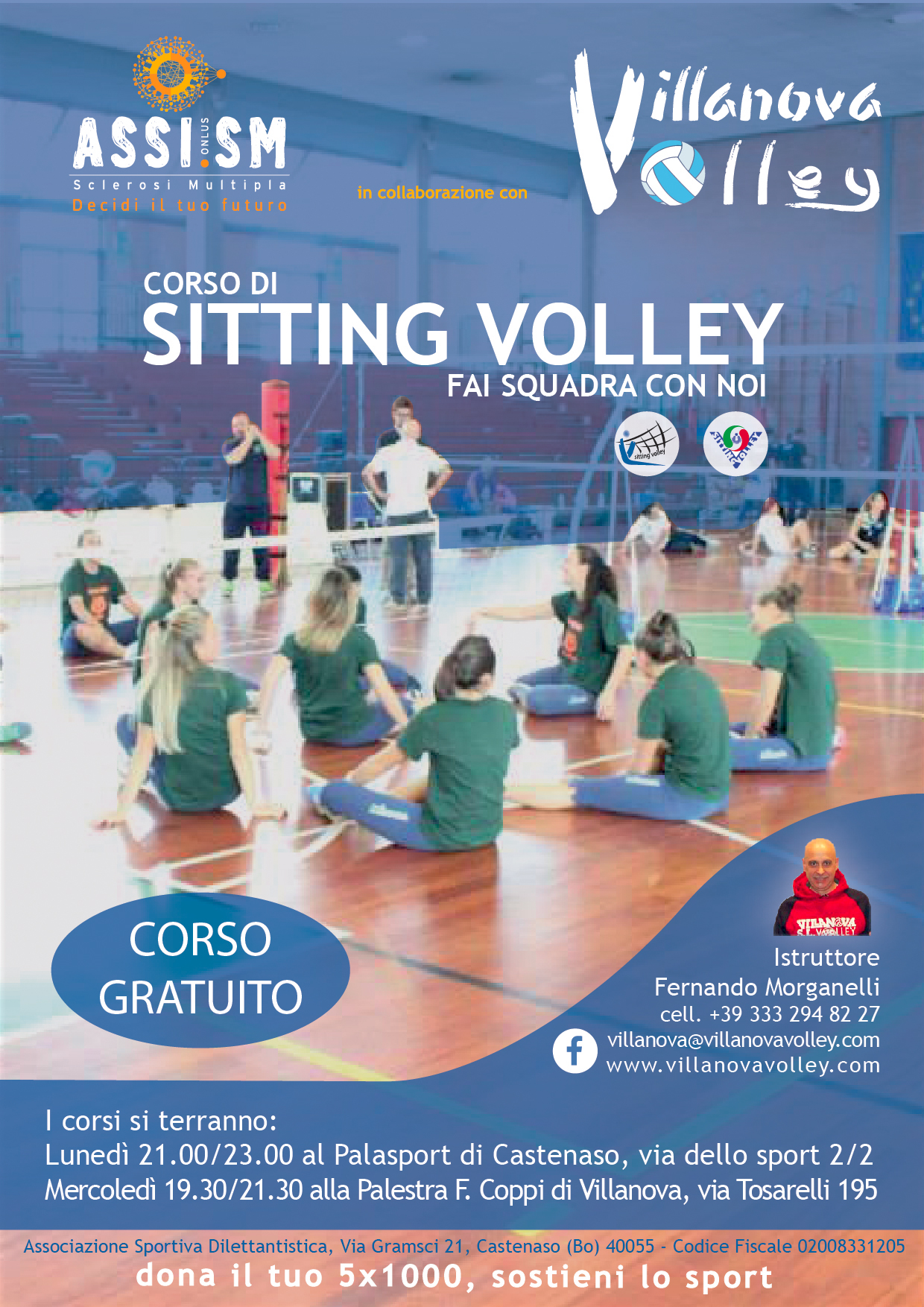 Corso Di Sitting Volley 2017