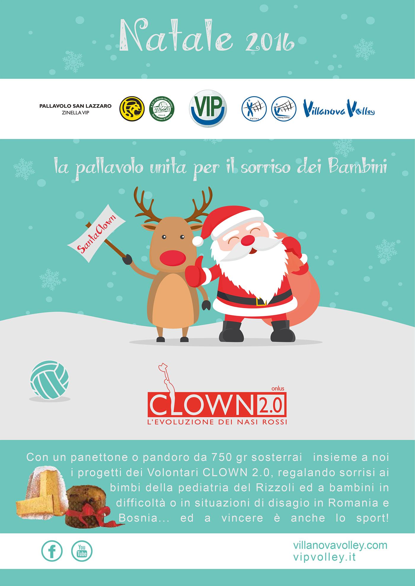 Natale 2016 A Sostegno Dei Clown 2.0