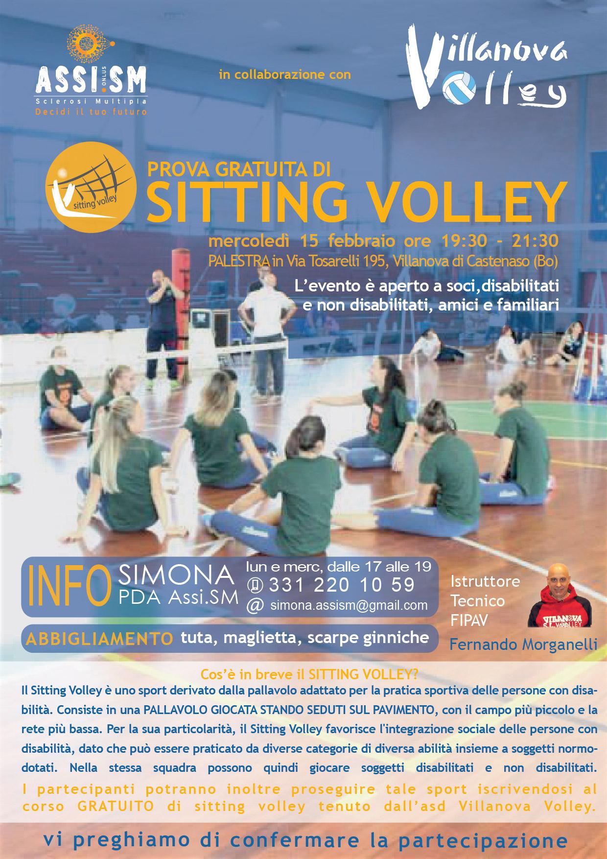 Prova Gratuita Di Sitting Volley