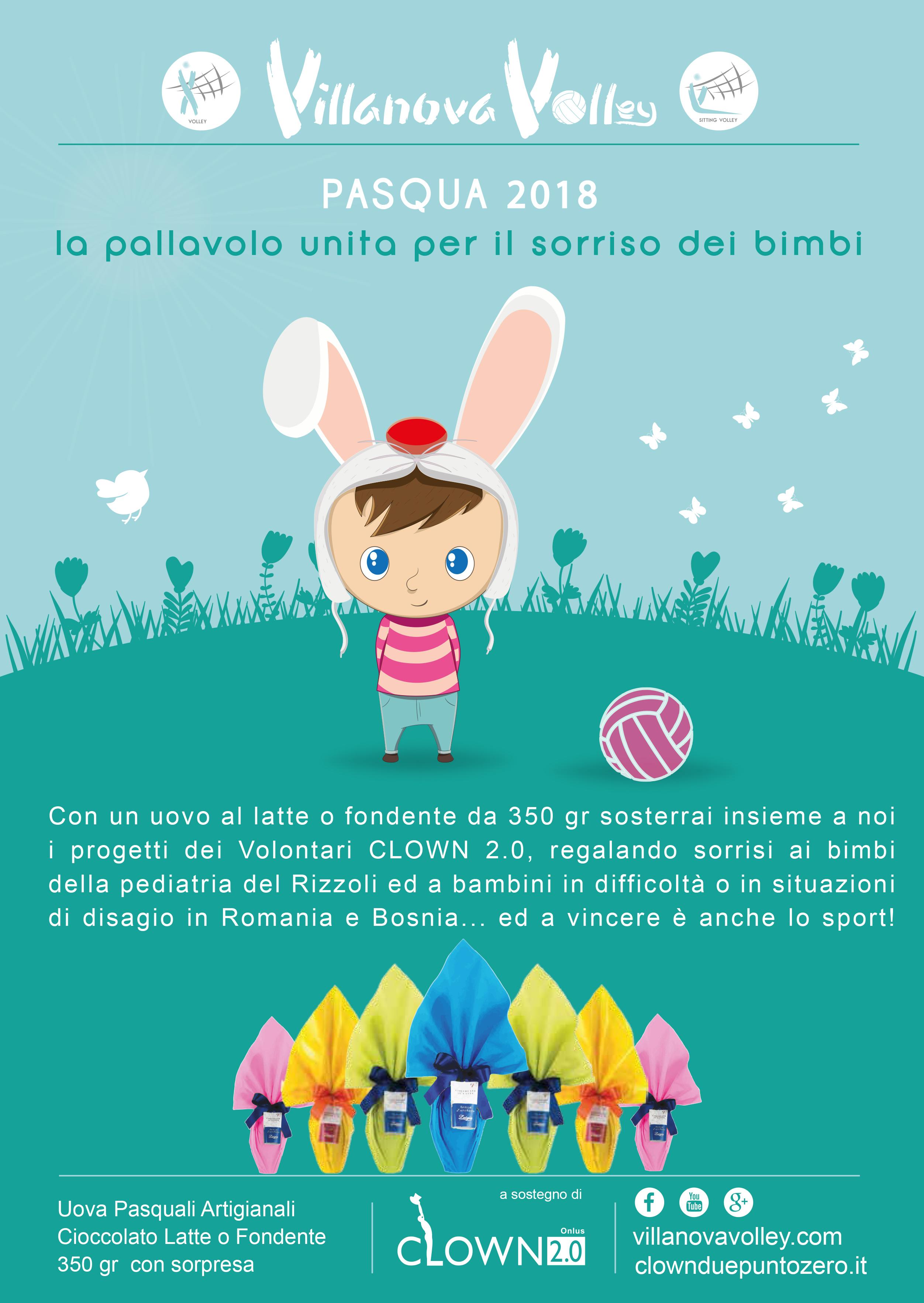 Campagna Di Pasqua 2018 A Favore Dei Clown 2.0 Per Bambini In Difficoltà E Di Disagio