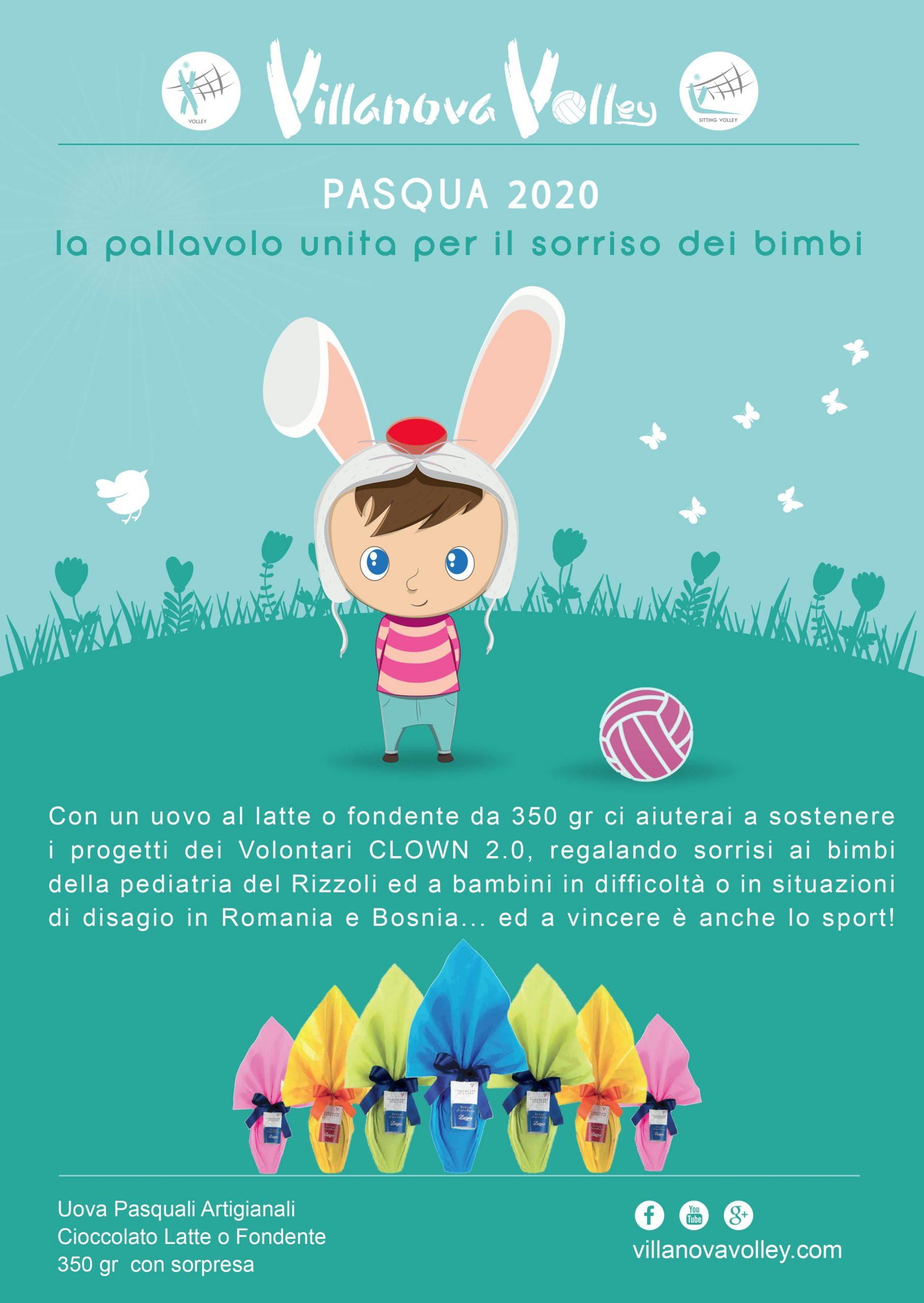 Campagna Di Pasqua 2020 A Favore Dei Clown 2.0 Per Bambini In Difficoltà E Di Disagio
